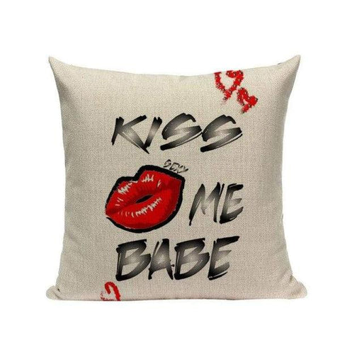 Red Black Modern Cushion Covers - Tiptophomedecor