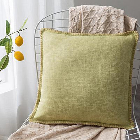 Solid Linen Earth Tones Organic Cushion Covers-TipTopHomeDecor