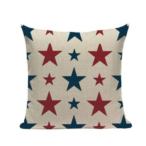 Stars & Stripes Cushion Covers-TipTopHomeDecor