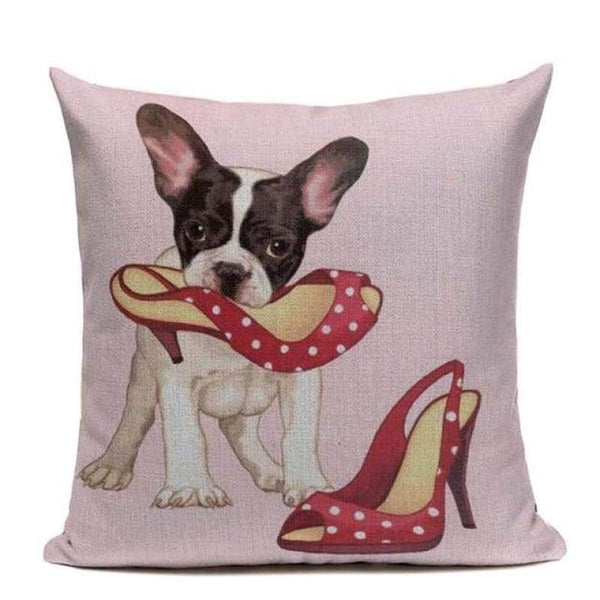Tiptophomedecor Terrier Bulldog Cushion Covers