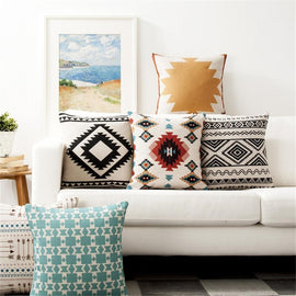 Tribal Ethnic Bohemian Home Decor Sofa Cushion Covers-Tiptophomedecor