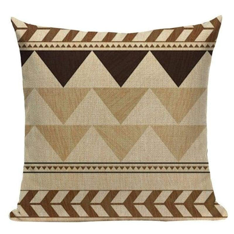 Tribal Gold Black Pillowcases-TipTopHomeDecor