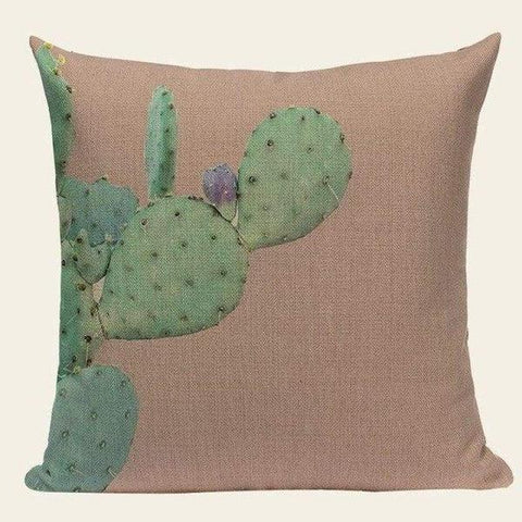 Tropical Cactus Pillow Covers - Tiptophomedecor