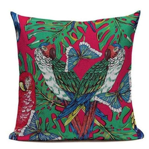 Tropical Jungle Pillow Cases-TipTopHomeDecor