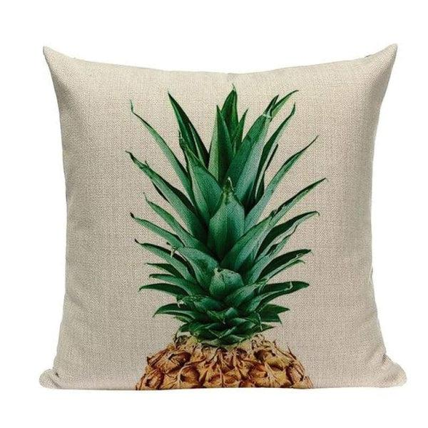 Tiptophomedecor Tropical Pineapple Cushion Covers
