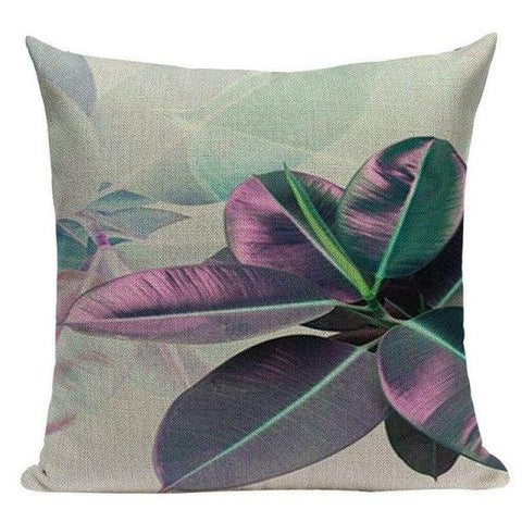 Tiptophomedecor Tropical Pink Cushion Covers