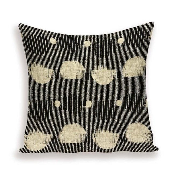 Vintage Abstract Mixed Media Art Cushion Covers-TipTopHomeDecor