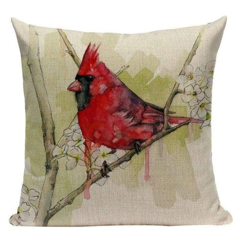 Tiptophomedecor Watercolor Bird Cushion Covers