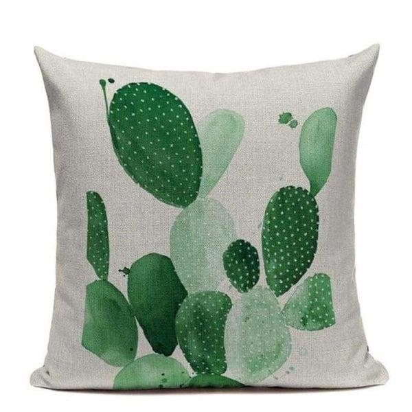 Watercolor Cactus Cushion Covers - Tiptophomedecor