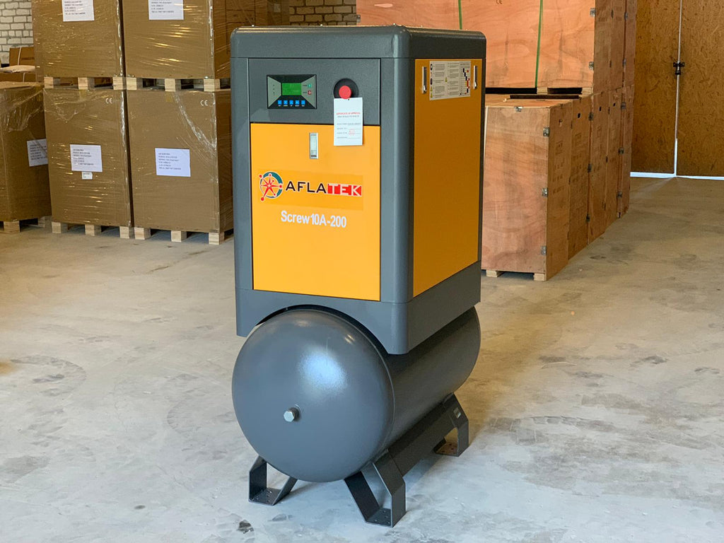 AFLATEK 10A Screw Type Air Compressor - stokker.co.uk