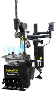 Tyre Changer - MASIIN AutoBoost 23R with rotating mounting arm - stokker.co.uk
