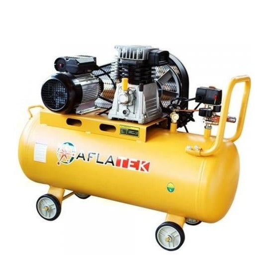 AFLATEK AIR100L Piston Air Compressor. - stokker.co.uk
