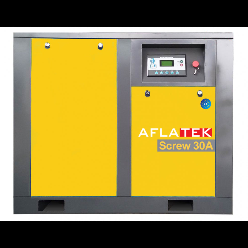 AFLATEK 30A Screw Type Air Compressor - stokker.co.uk