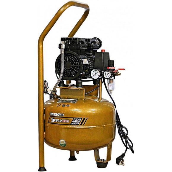 AFLATEK Silent 15-1 EXC Air Compressor, water/oil separator included.