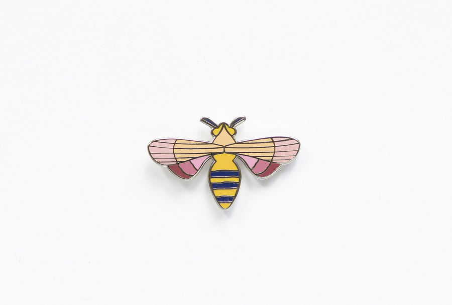 Emaile broche - Honey Bee