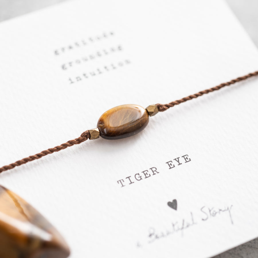 Tiger Eye armbandje