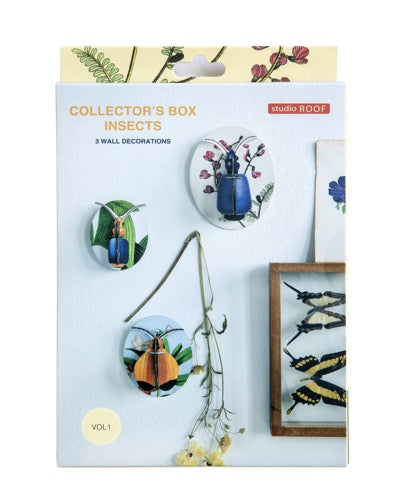 Muur Deco - Collector's Box Insects vol. 1