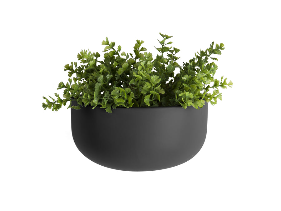 Present Time wandpot breed - Zwart