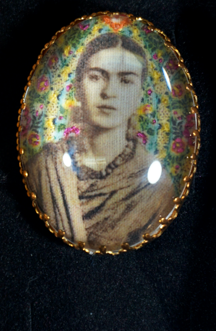 Frieda Kahlo broche - 3