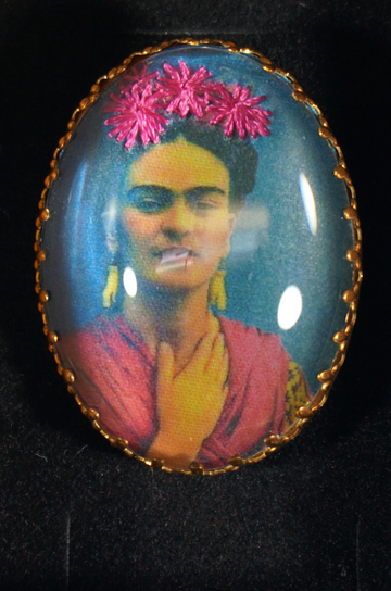 Frieda Kahlo broche - 4