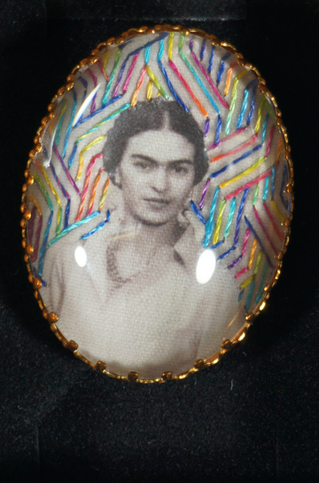 Frieda Kahlo broche - 5