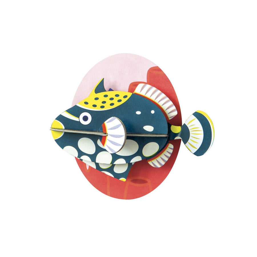 Muur Deco - Clown Triggerfish