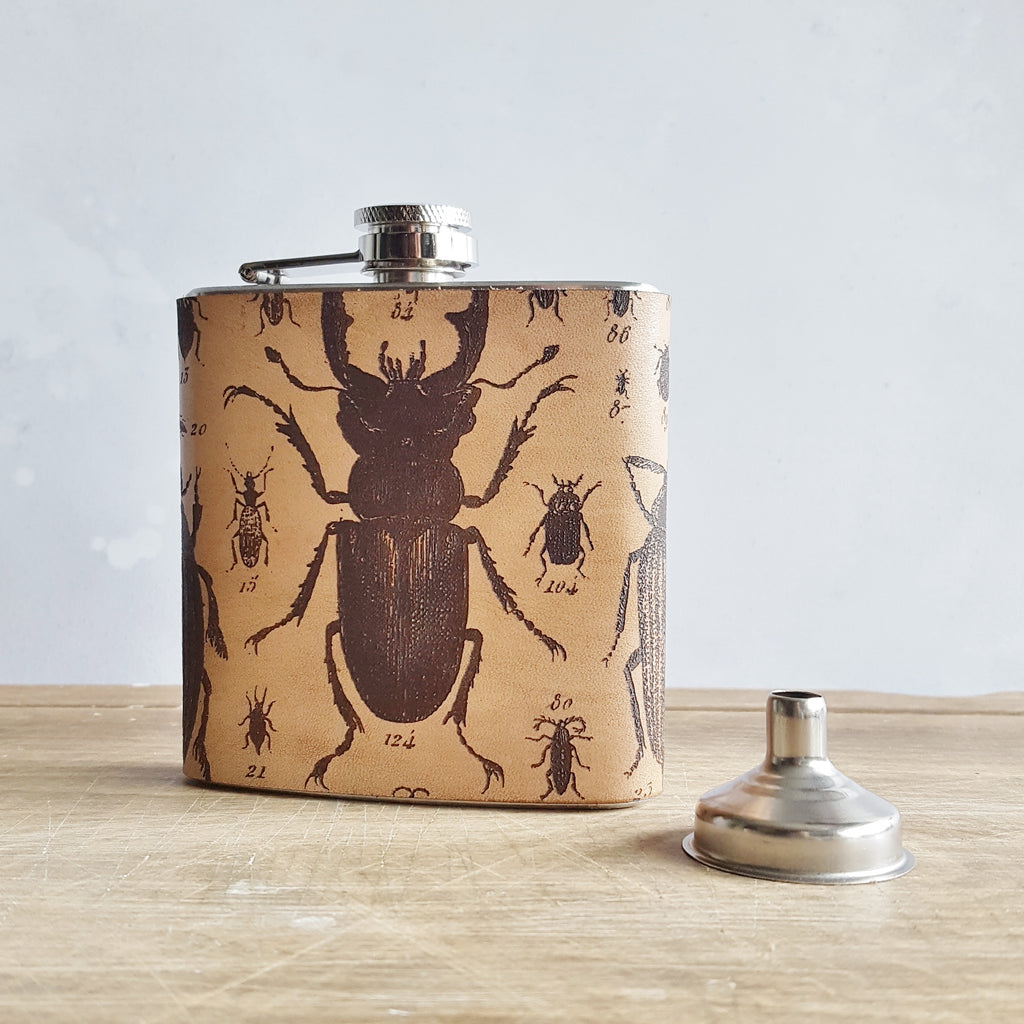 The Entomology Flask-Hip Flask-HÔRD