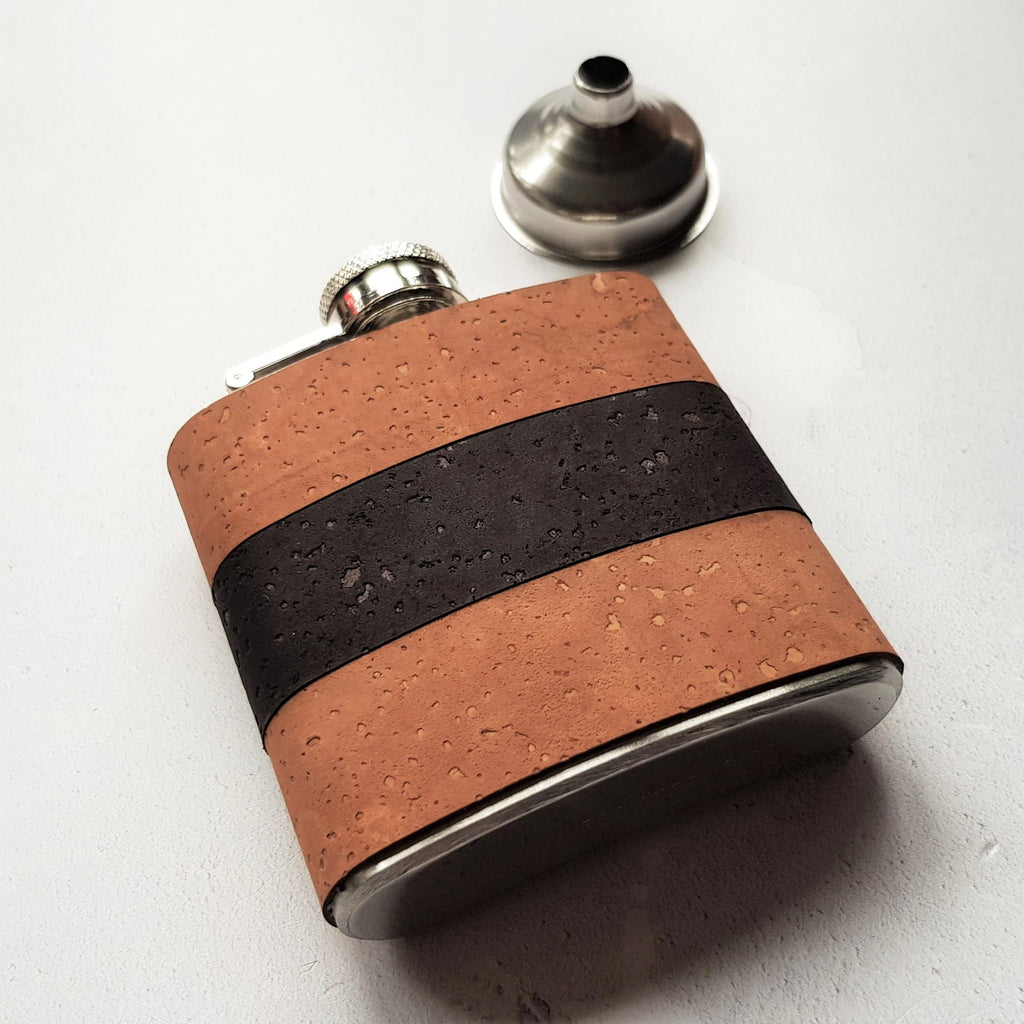 Sand and Coal Hip Flask-Hip Flask-HÔRD