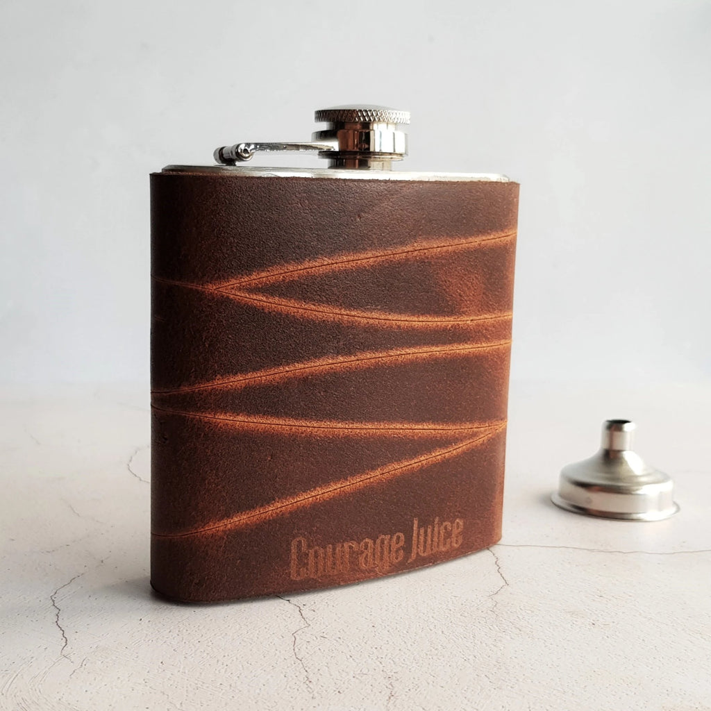 The Rugged Rust Hip Flask-Hip Flask-HÔRD