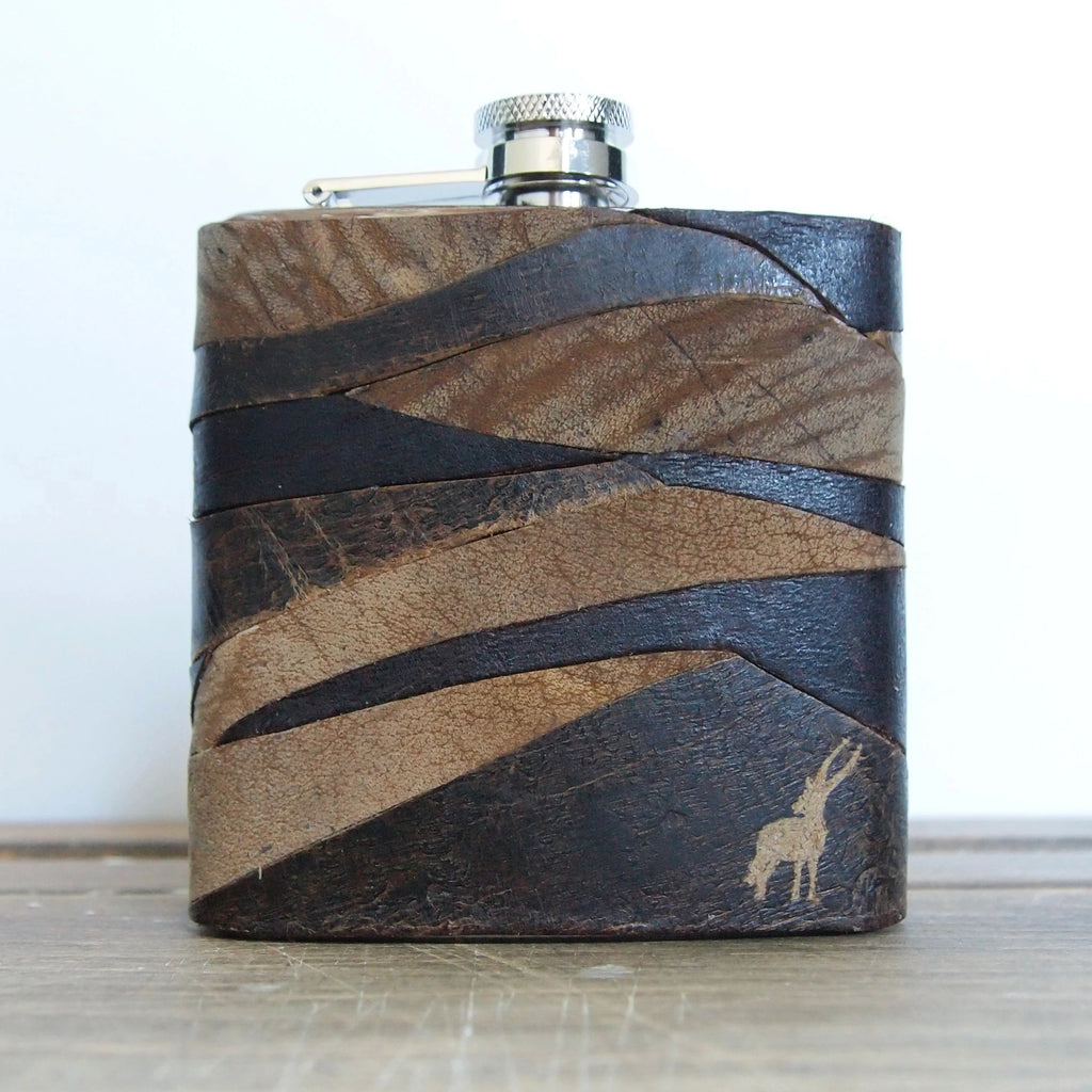 The Survivor Leather Flask-Patch-HÔRD