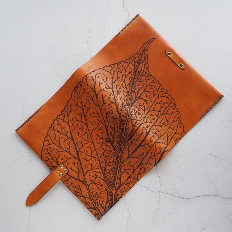 The Mulberry Leaf Journal Cover by Hord