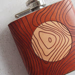The Snowdon Topographic Flask-Hip Flask-HÔRD