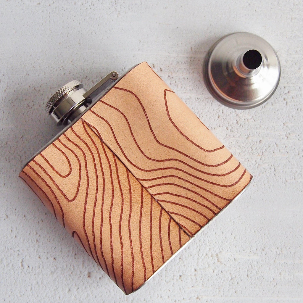 The Ben Nevis Topographic Flask-Hip Flask-HÔRD
