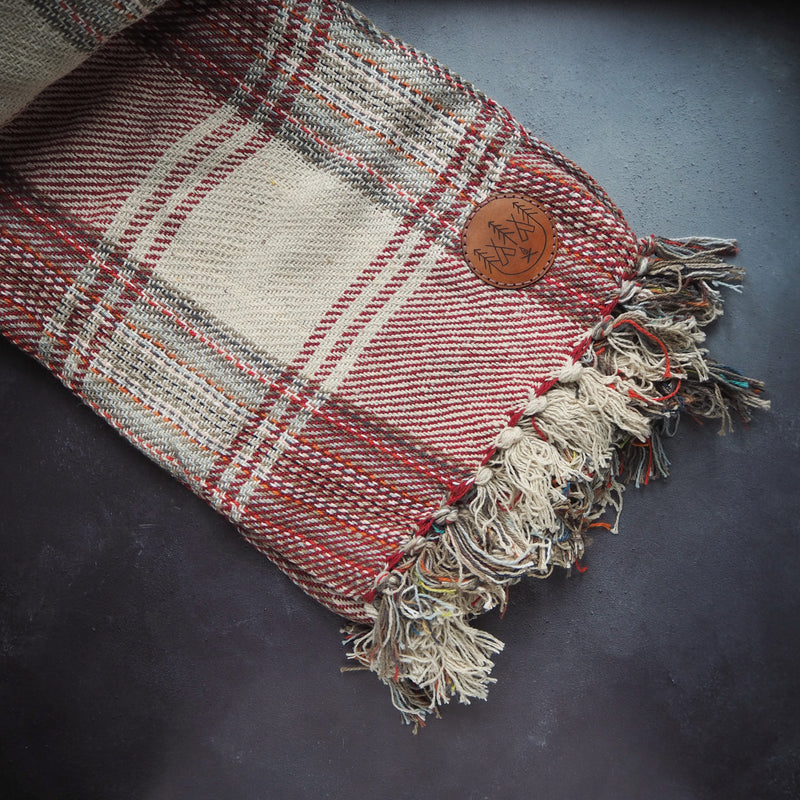 recycled cotton blanket by Hord