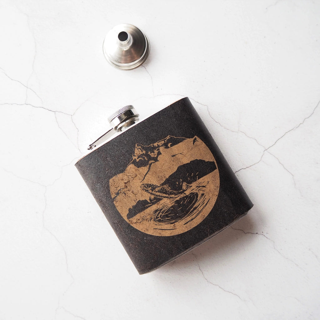 The Anglers Flask-Hip Flask-HÔRD