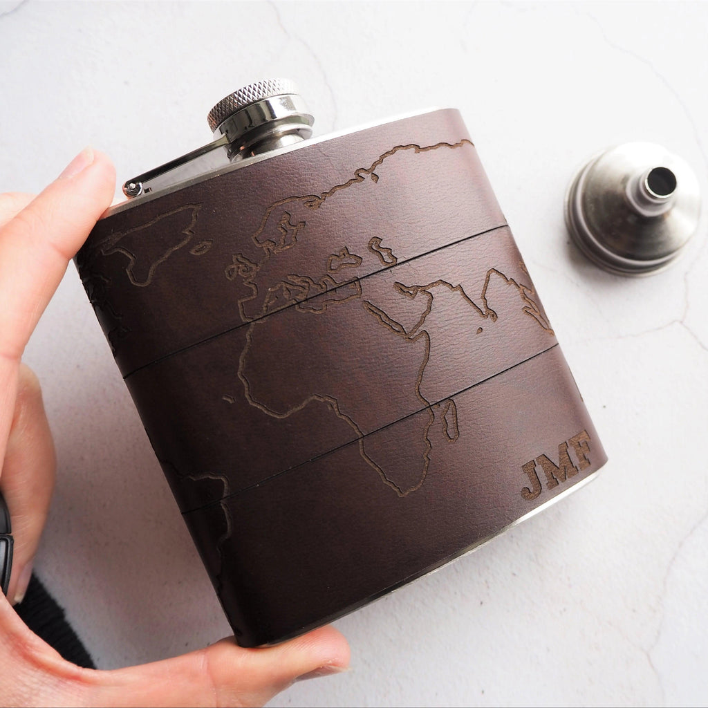 The Atlas Hip Flask-Hip Flask-HÔRD