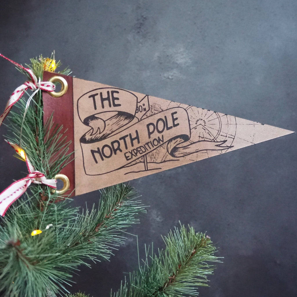 The North Pole Christmas Tree Topper by Hord