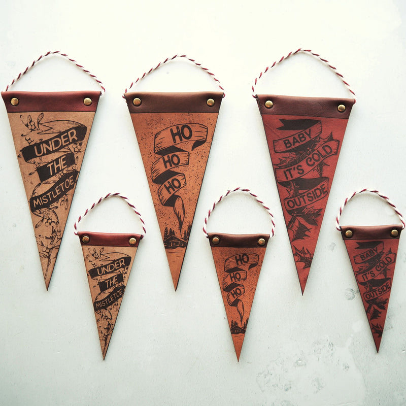 Christmas Pennants by Hord.