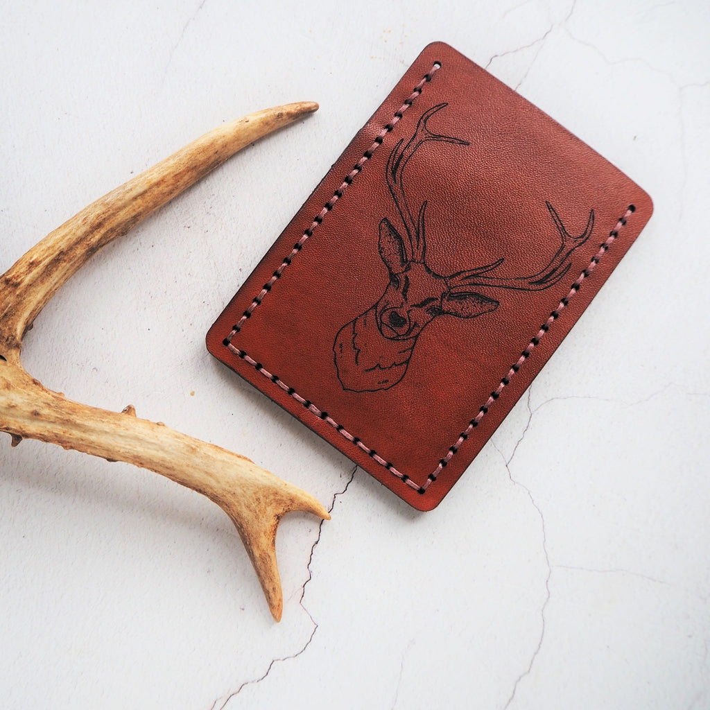 The Stag Card Holder by Hord