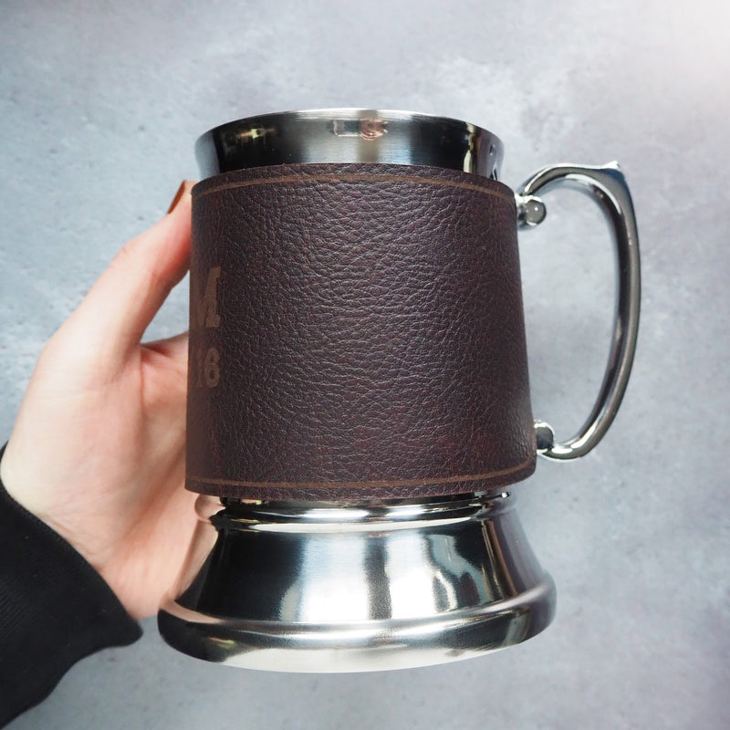 Personalised Wedding Tankard by Hord