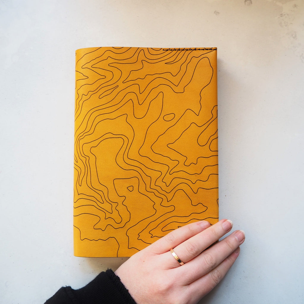 The Topography Journal Cover by Hord