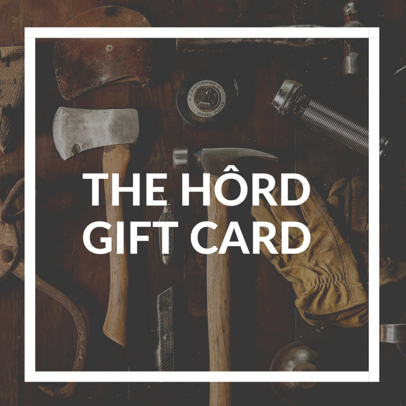 the hôrd gift card, hord leather flask and gifts