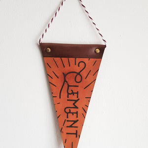 The Mini Nursery Pennant - Perfect gifting for the expecting parent, by Hord