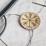 Patch - Vegvísir Leather Patch