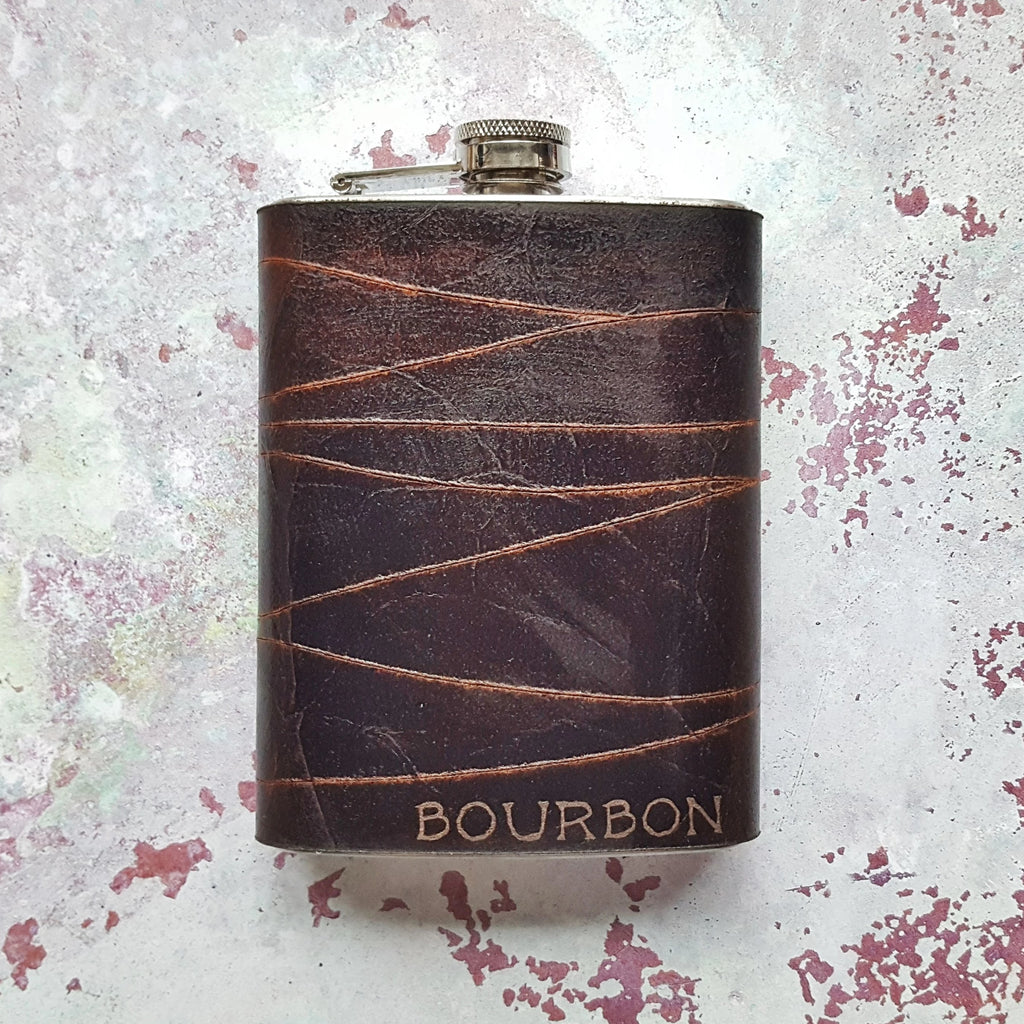 The Rugged Peat Hip Flask-Hip Flask-HÔRD
