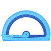 Soft Touch School Protractor With Microban Protection, Assorted Colors - Item 4SS-ACM14371