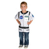 My 1St Career Gear White Astronaut Top, One Size Fits Most Ages 3-6 - Item 4SS-AEATASW