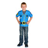 My 1St Career Gear Police Top, One Size Fits Most Ages 3-6 - Item 4SS-AEATPOL