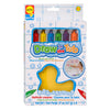 Draw In The Tub Crayons, Pack Of 6 - Item 4SS-ALE639R