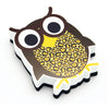 Magnetic Whiteboard Eraser, Wise Owl - Item 4SS-ASH10009